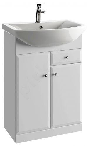 Vonios kambario spintelė su praustuvu 6001 D60