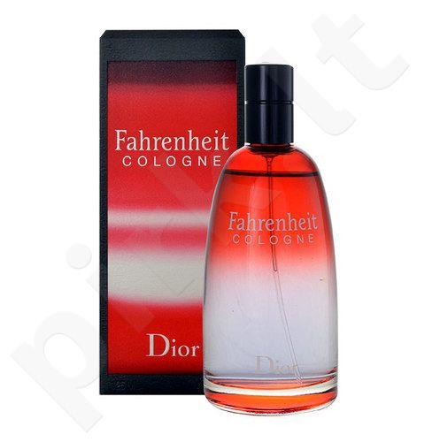 Christian Dior Fahrenheit Cologne, odekolonas vyrams, 75ml