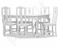 Komplektas: stalas + 6 kėdės 102202