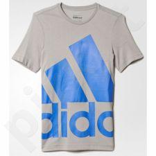 Marškinėliai Adidas Essentials Oversize Logo Junior AY8263