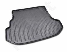 Guminis bagažinės kilimėlis SUBARU Forester 2002-2008  black /N37002