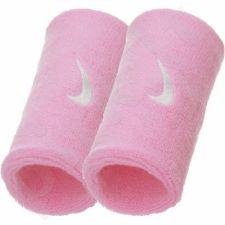 Riešinė  Nike szeroka Swoosh Doublewide 2vnt W NNN05617 rožinės spalvos