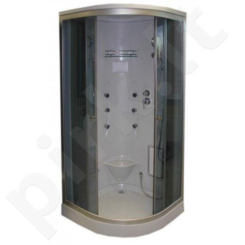 Masažinė dušo kabina R826A grey
