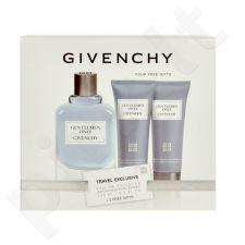 Givenchy Gentlemen Only rinkinys vyrams, (EDT 100ml + 75ml dušo želė + 75ml losjonas po skutimosi)