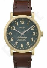 Laikrodis TIMEX  WATERBURY COLLECTION - leather - INDIGLO - kvarcinis - - WR 5 ATM