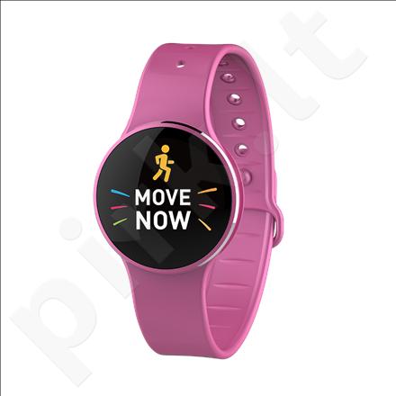 MyKronoz Zecircle 2 Smartwatch, Pink, Touchscreen, 70 mAh, Touchscreen, Bluetooth, Waterproof