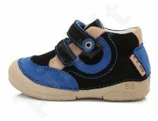 D.D. step juodi batai 19-24 d. 038249u