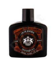 DEAR BARBER Shampoo, šampūnas vyrams, 250ml