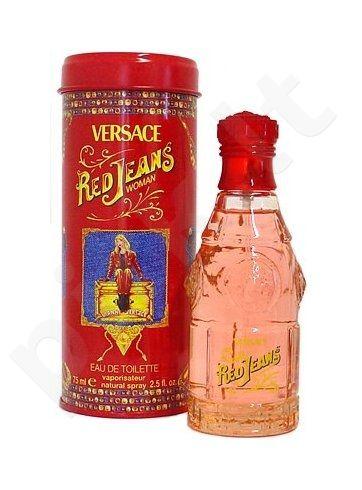 Versace Jeans Red, tualetinis vanduo (EDT) moterims, 75 ml