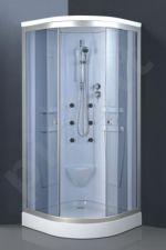 Masažinė dušo kabina R822 grey