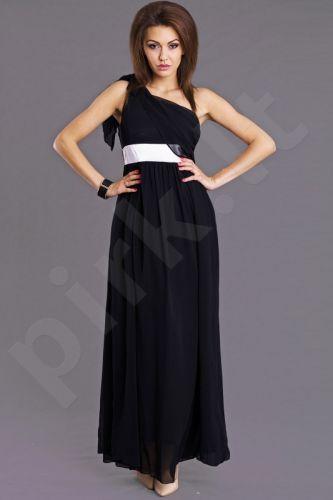 EVA&LOLA suknelė - juoda 6808-1