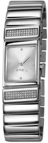 Laikrodis BREIL TRIBE SLASH moteriškas Strass Silver