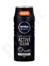 Nivea Men Active Clean šampūnas, kosmetika vyrams, 250ml