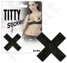 Titty Sticker Lipdukai Krūtims (X formos)
