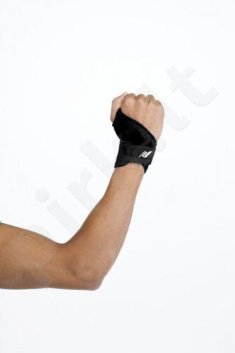 Įtvaras riešui CARPO 02 velcro užseg. black