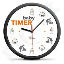 """Laikrodis """"Kūdikio grafikas"""""""