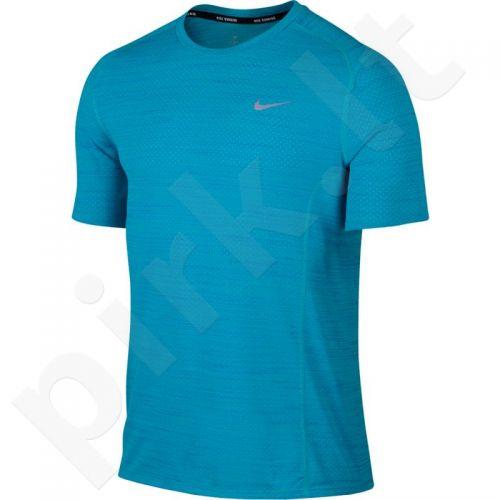 Marškinėliai bėgimui  Nike Dri-Fit Cool Miler SS M 718348-418