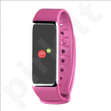 MyKronoz ZeFit3 Smartwatch, Pink/ Silver, Touch, 80 mAh, Touchscreen, Bluetooth, Waterproof, Warranty 1 year(s)