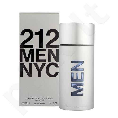 Carolina Herrera 212 NYC Men, tualetinis vanduo vyrams, 50ml, (Testeris)