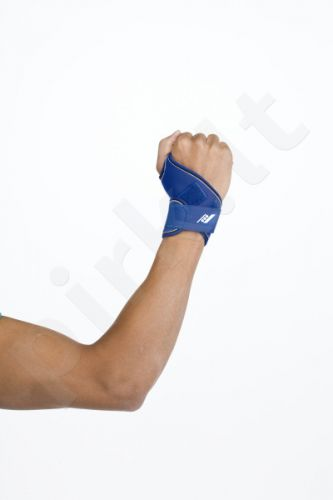 Įtvaras riešui CARPO 01 velcro užseg. blue