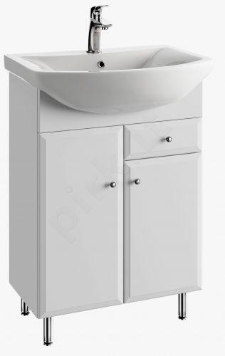 Vonios kambario spintelė su praustuvu 6004 D60 koj.