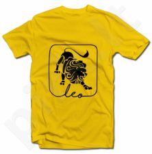 """Marškinėliai su zodiako ženklu """"Liūtas"""""""