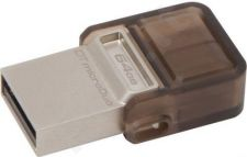 Atmintukas Kingston 64GB DT MicroDuo USB 2.0 micro USB OTG