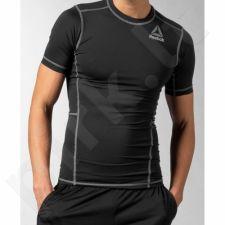Marškinėliai treniruotėms Reebok Workout Ready Short Sleeve Compression M AP5697