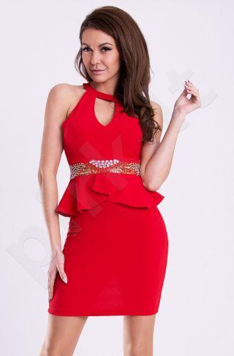Emamoda suknelė - raudona 12015-4