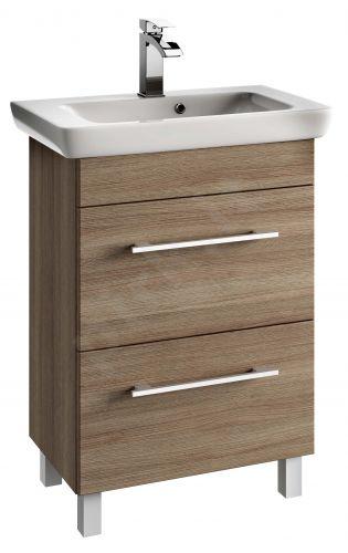 Vonios kambario spintelė su praustuvu 6502 D65 dab. rij.