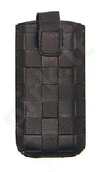 17-B1 SQUARES universalus dėklas N100 Telemax juodas