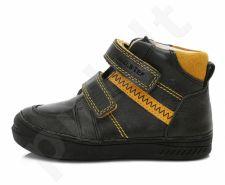D.D. step juodi batai 31-36 d. 040417bl