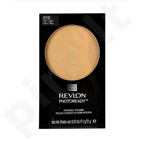 Revlon Photoready kompaktinė veido pudra, kosmetika moterims, 7,1g, (010 Fair/Light)