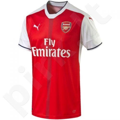 Marškinėliai futbolui Puma Arsenal Football Club Home Replica Shirt M 74971201