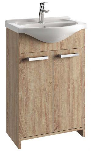 Vonios kambario spintelė su praustuvu 5505 D55 dab. son.
