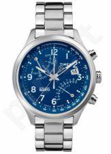 Laikrodis TIMEX  INTELIvyriškas kvarcinis - STAINLESS STEEL - chronografasgrafas - LUMINOUS - kvarcinis - - WR 3 ATM