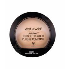 Wet n Wild Photo Focus, kompaktinė pudra moterims, 7,5g, (Warm Light)
