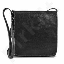 DAN-A T33 juoda rankinė iš natūralios odos , moteriška