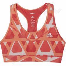 Sportinė liemenėlė  Adidas Techfit B Triax-Print W AJ2191