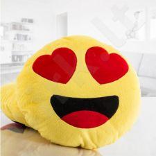 """Pliušinė pagalvė """"Emocija: širdelės"""""""