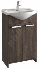 Vonios kambario spintelė su praustuvu 5502 D55 wen. aru