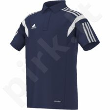 Marškinėliai futbolui polo Adidas Condivo 14 Junior F76958