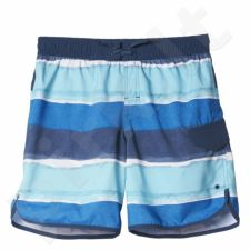 Maudymosi šortai Adidas Youth Stripes Short Classic Length Junior AJ6609
