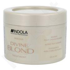 Indola Innova Divine Blond Treatment, kaukė šviesiems plaukams, kosmetika moterims, 200ml