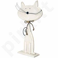 Medinė katės figurėlė 100267