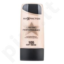 Max Factor Lasting Performance Make-Up, kreminė pudra 35ml, kosmetika moterims  - 105 Soft Beige