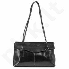 DAN-A T39 juoda rankinė iš natūralios odos , moteriška