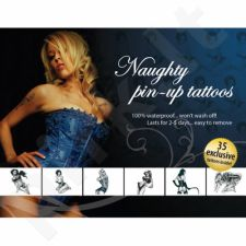 Tattoo Set  - Naughty Pin-Up
