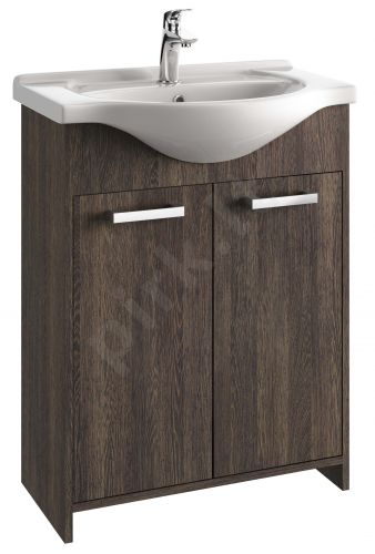 Vonios kambario spintelė su praustuvu 6502 D65 wen. aru