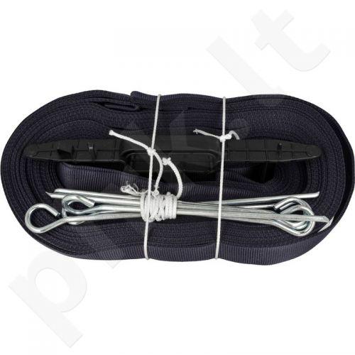Juosta badmintonui  NETEX uniwersale juodas